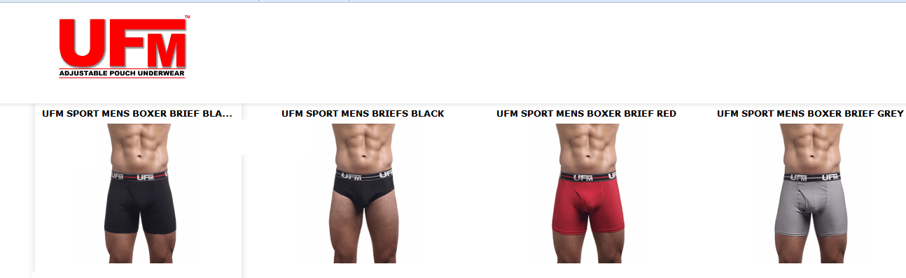Boxer briefs underwear for men products