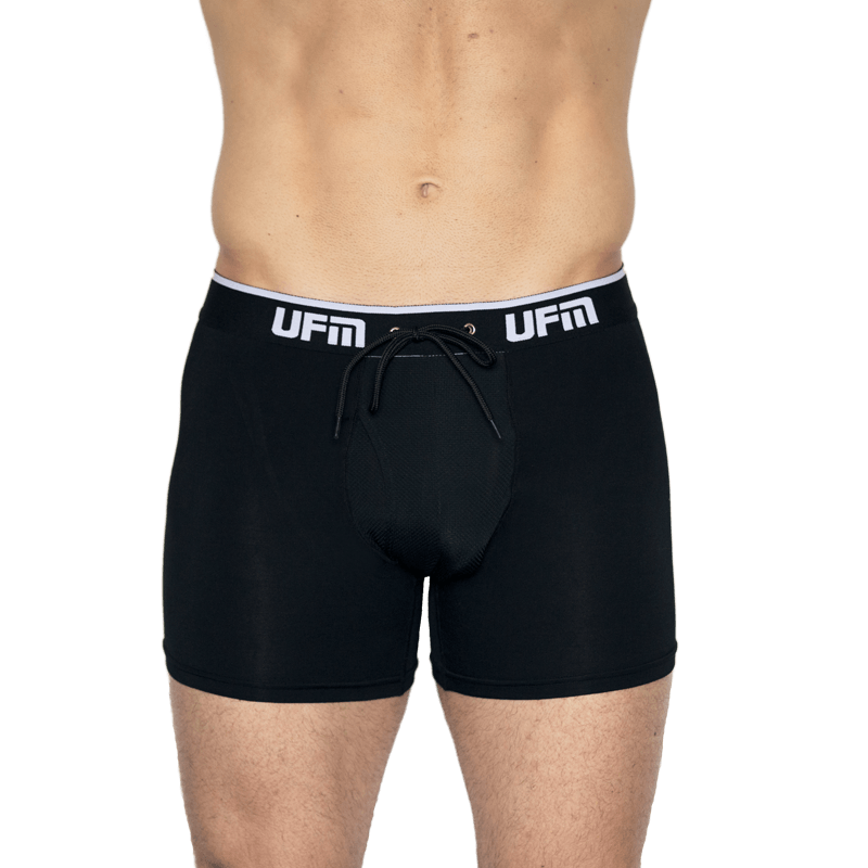 Black-Boxer-Briefs-6-Inch-Viscose-FRONT