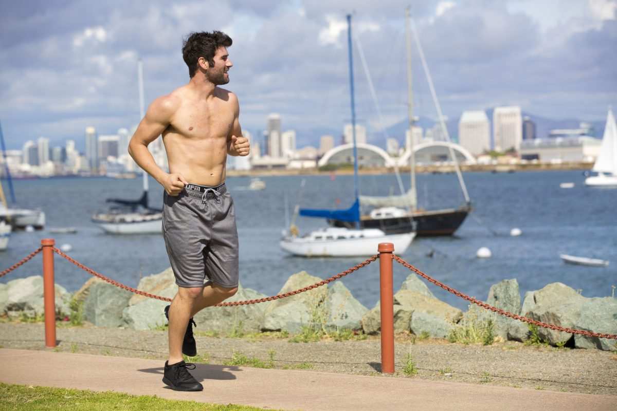 Mens underwear for running outdoors and indoors