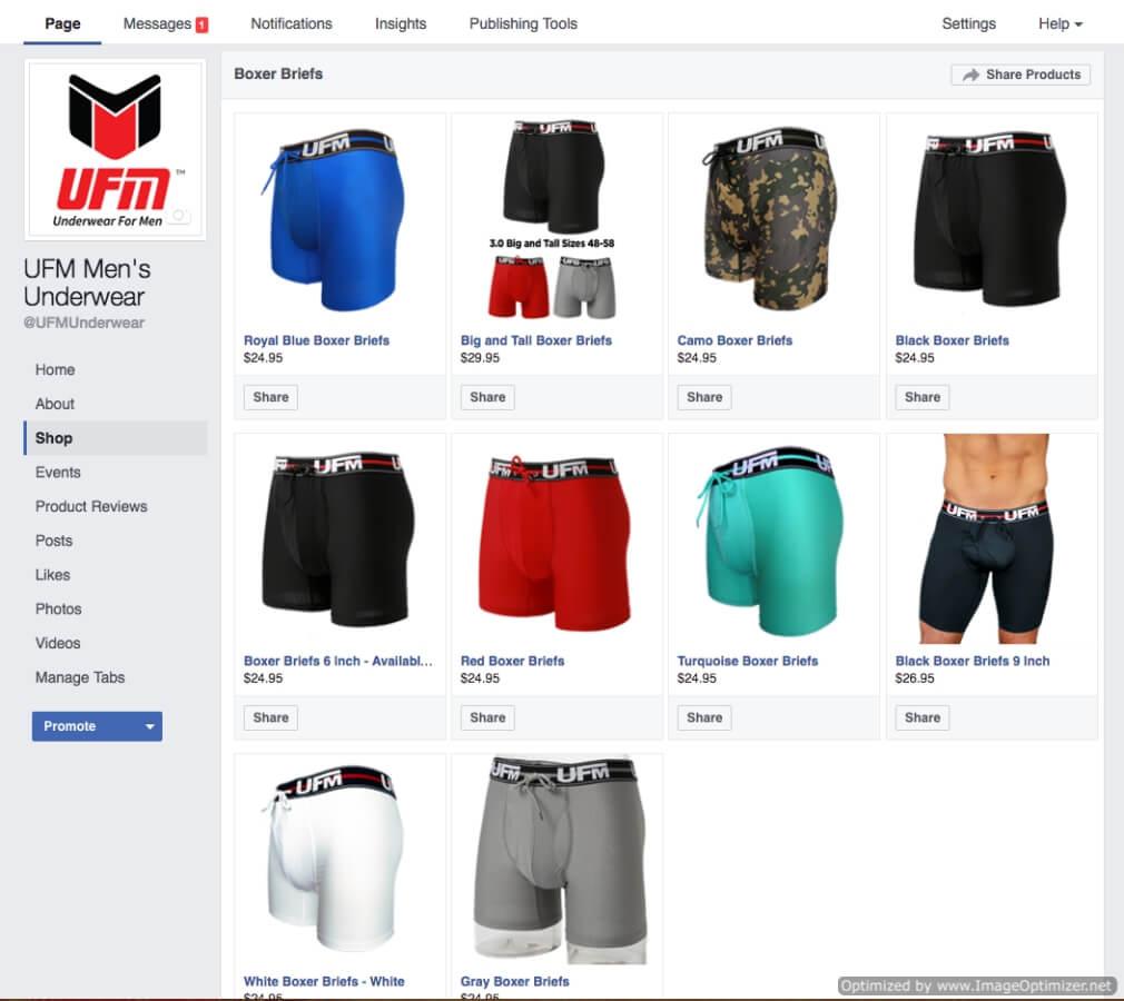 Underwear For Men Facebook Store