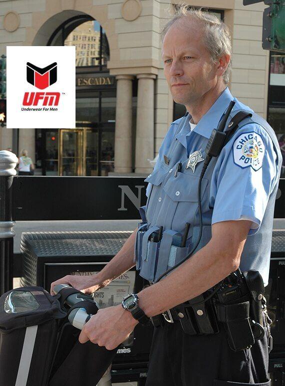 police officer mens underwear