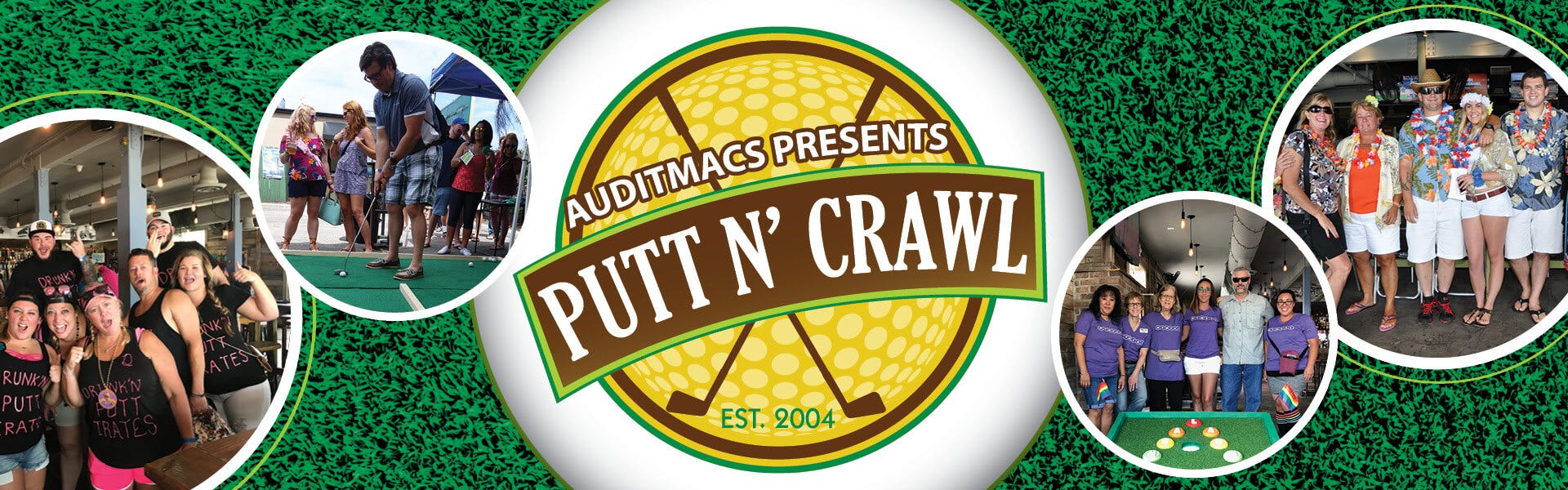 Underwear For Men Sponsors a Hole at the 2019 Jacksonville Putt N' Crawl
