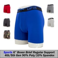 UFM Poly 6in Boxer Briefs QTR 36-38 (L) Parent 250