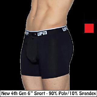 Polyester 6'' Boxer Briefs 4th Gen Athletic Underwear for Men