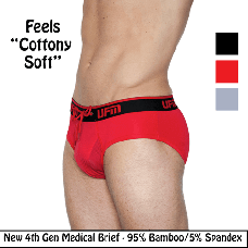 Bamboo Briefs 4th Gen Medical Underwear for Men