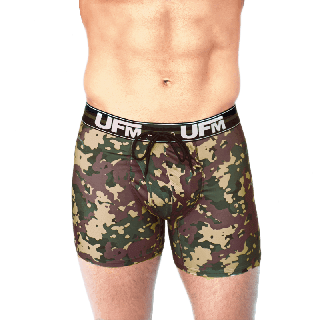 Camo Boxer Briefs 6 inch 28-30 Waist - 3rd Gen Athletic Underwear For Men - Env