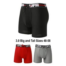 gen 3 medical big and tall boxer briefs three color underwear for men