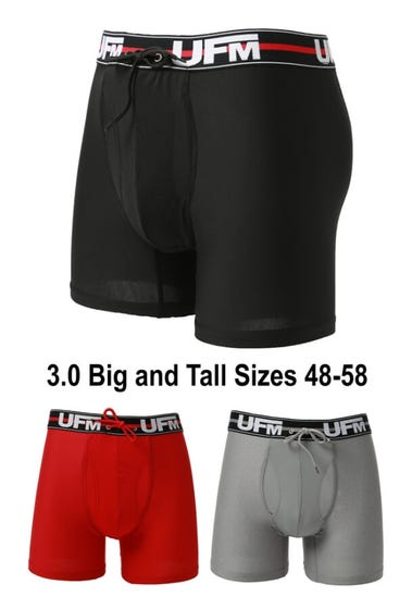 gen 3 everyday big and tall boxer briefs three color underwear for men